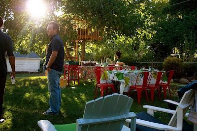 Autumn Backyard Dinner Party